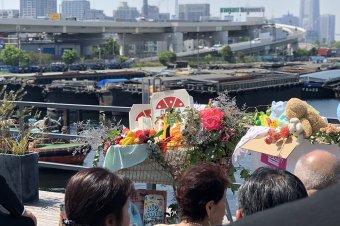 横浜のヨットハーバーで取り持たれた友人のオリジナルウェディングに参加してきました。